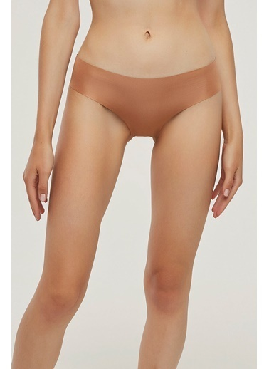 Penti Açık Kahverengi Nude Colors Slip Cover Külot Kahve